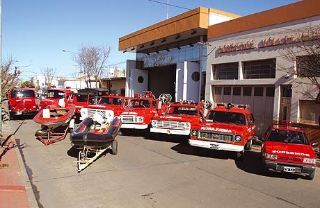 bomberos voluntarios de Carlos Casares