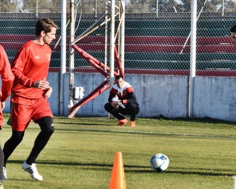 Lucas Vesco en entrenamiento