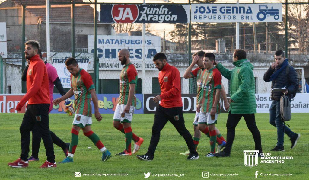 agropecuario perdió ante Luján, Copa Argentina