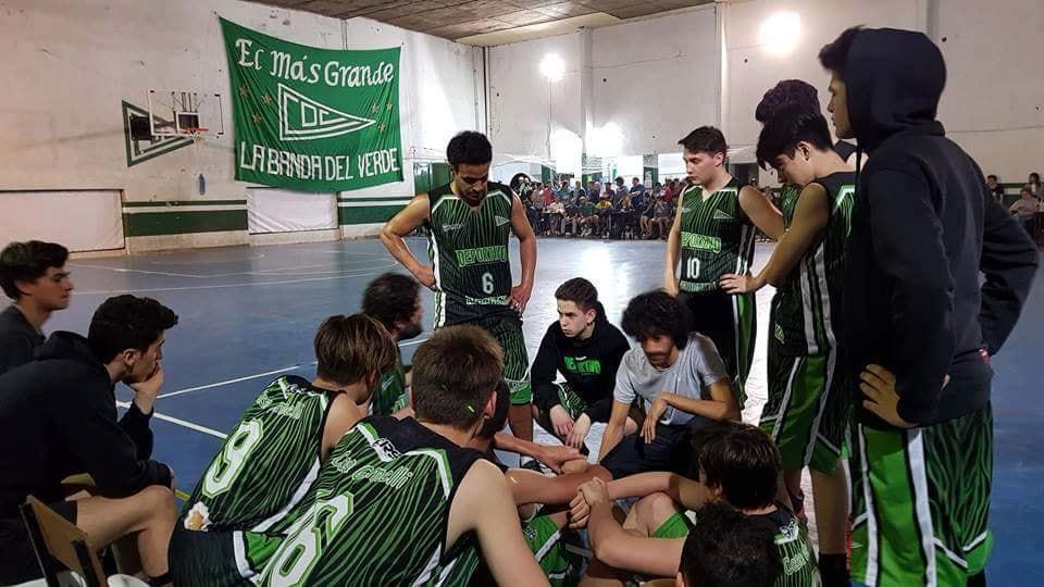 deportivo básquet equipo