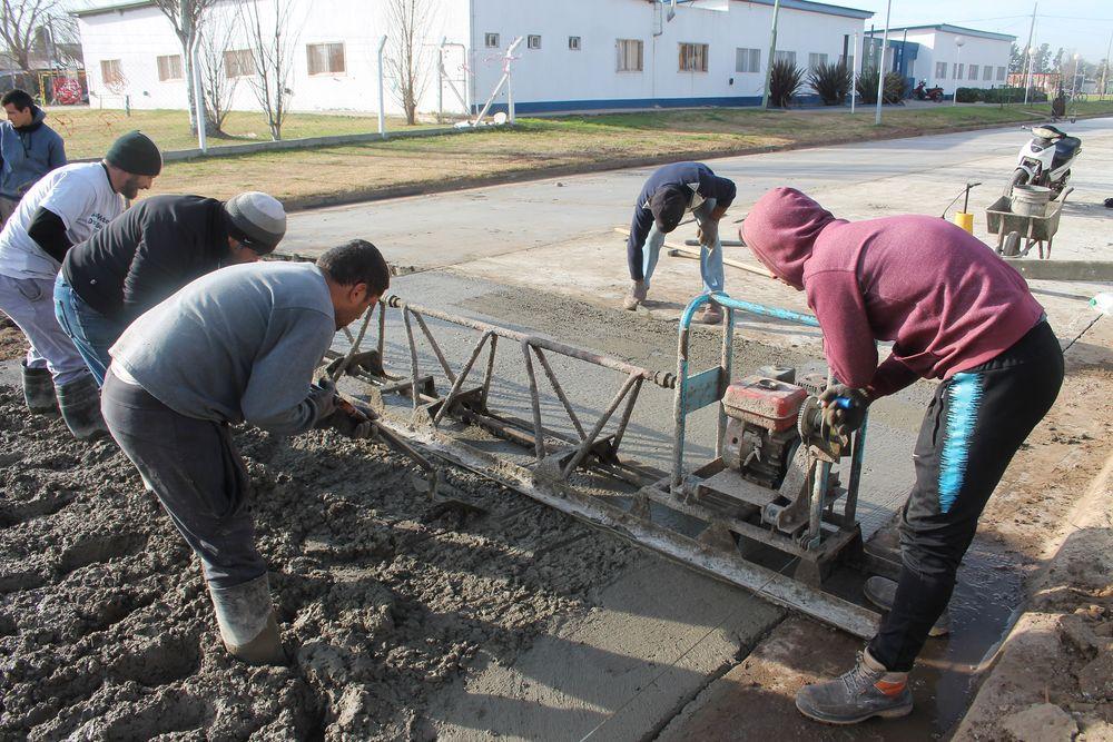 Obras de asfalto