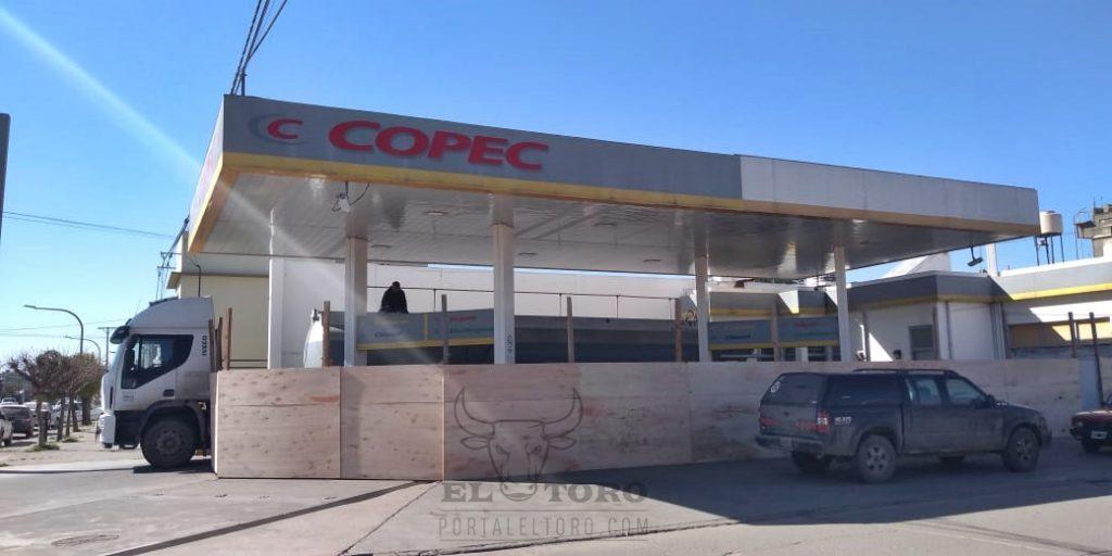 Copec, cierra en Carlos Casares