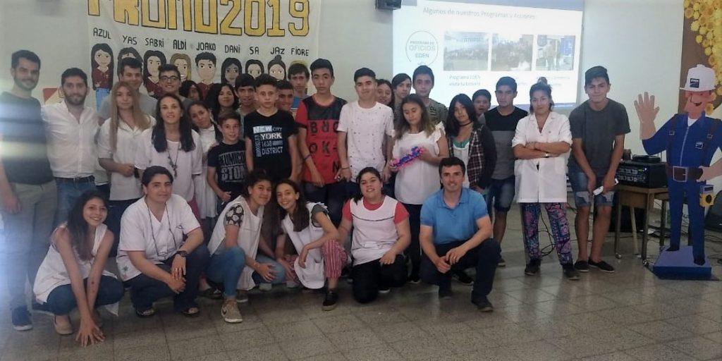 EDEN visita tu Escuela en Carlos Casares