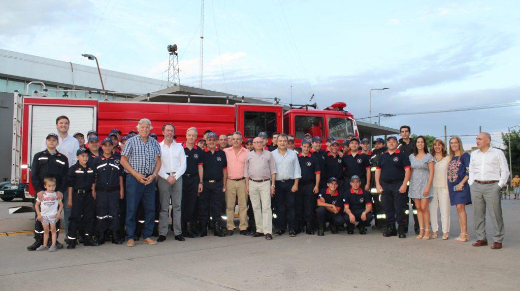 nueva unidad de incendios forestales para Bomberos Voluntarios